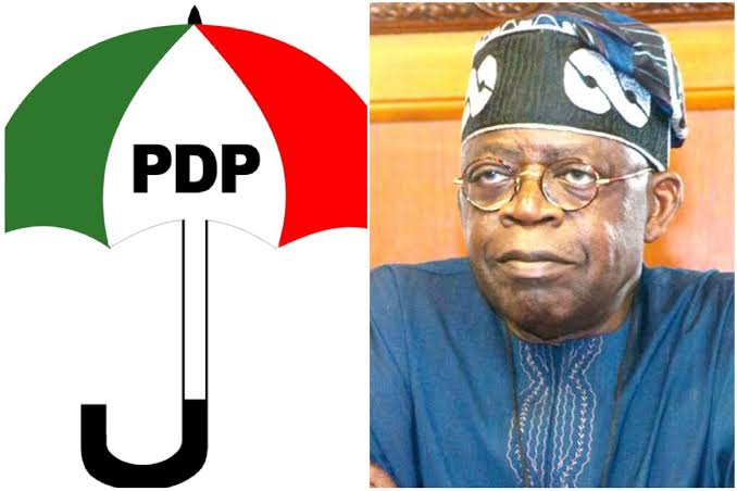 PDP to investigate members collecting money from Tinubu