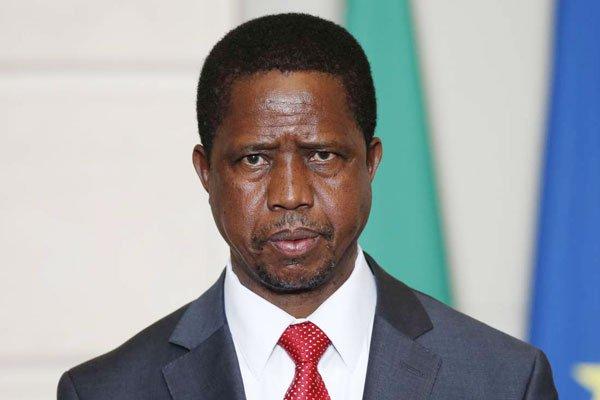 Zambia President Edgar Lungu Collapses After 'Sudden Dizziness'