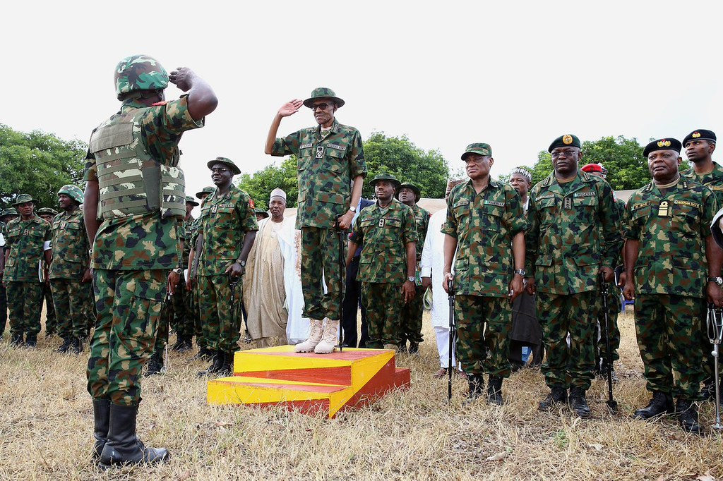 Buhari Tells Army Not To Give Terrorists, Criminals Breathing Space