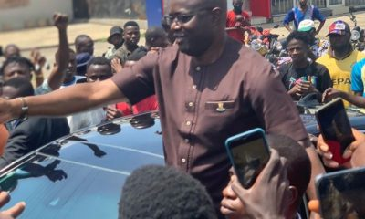 June 12: Makinde Addresses #BuhariMustGo Protesters
