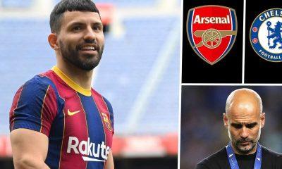 Aguero's Father Blasts Pep Guardiola For Treatment Of Man City Legend