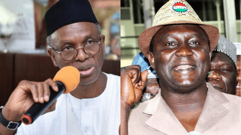 Comeback to pretest in Kaduna And see something - El-rufai Dares NLC