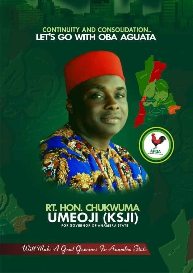 Anambra Guber: Hon Umeoji Is The Man To Beat