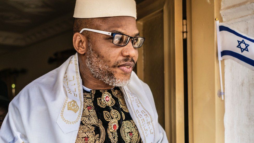 The Real Gist On How Nnamdi Kanu Was Arrested