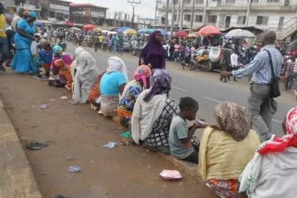 Oyo Government Starts Evacuation Of Beggars From Ibadan Roads.