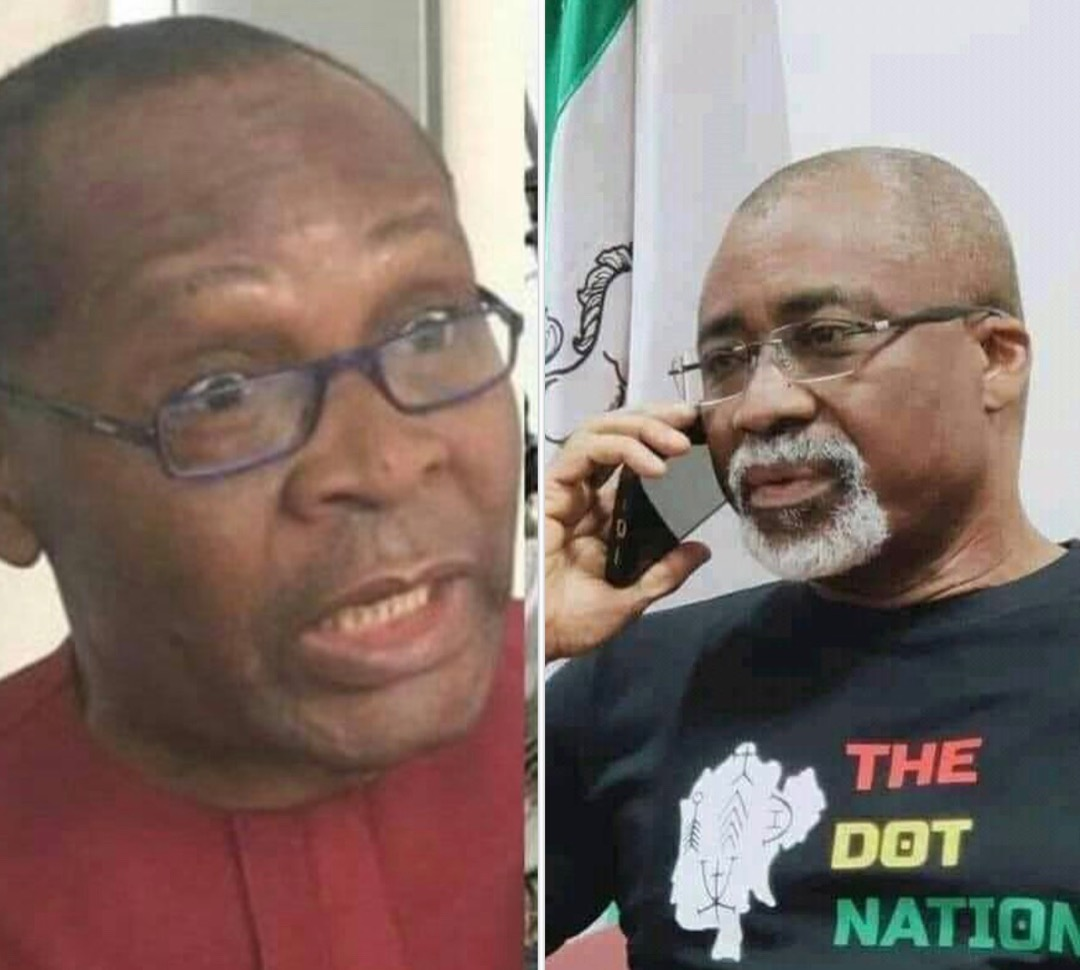 The Dot Nation: You're ethnic bigot, elder for nothing — Igbokwe berates Abaribe