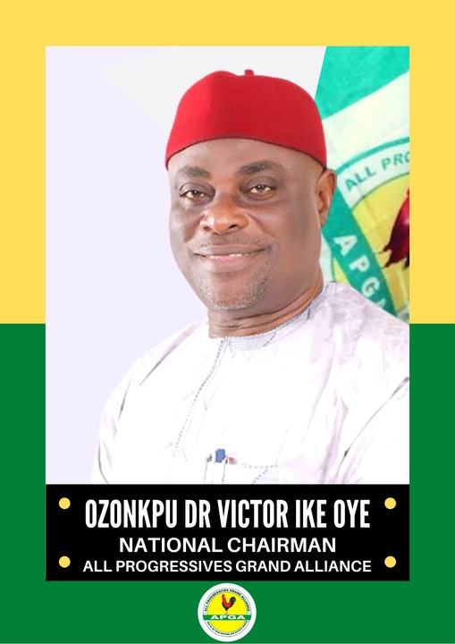 APGA Reacts To The Suspension Of Chairman, Says Our Leadership Is Intact
