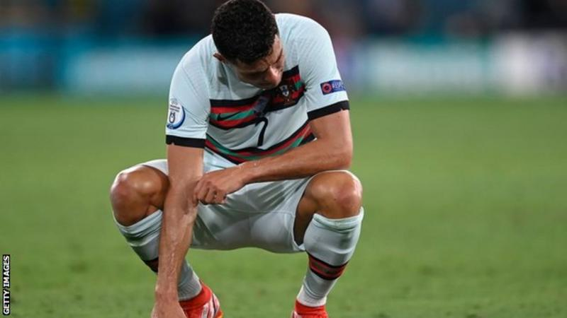 Ronaldo Bows Out Of Euro 2020 After Belgium Defeated Portugal