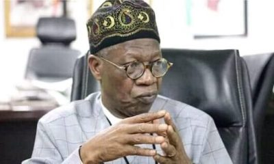 Twitter refused FG's request to delete Nnamdi Kanu's account -Lai Mohammed