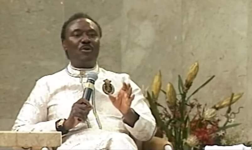 The wizard called Emmanuel has been consumed' – Rev Chris.