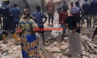 Traders Lament As Ariaria International Market, Aba is Destroyed