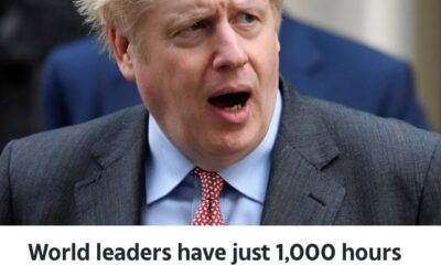 Boris Johnson Warns World Leaders They Have 1000 Hours To Tackle Climate Change
