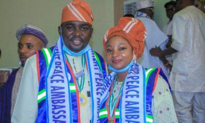 Obafemi Owode LG Boss, Ogunsola Bags UN International Peace Ambassadorial Eminent Awards
