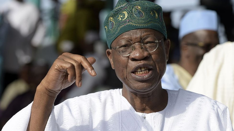 Lai Mohammed unhappy media is underreporting military success against bandits
