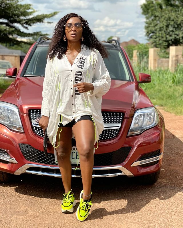 Blessing Okoro: When You Smile At Them, They Are Already Wet - See Why