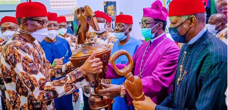 Ohanaeze laments marginalisation, Buhari says Igbo control economy