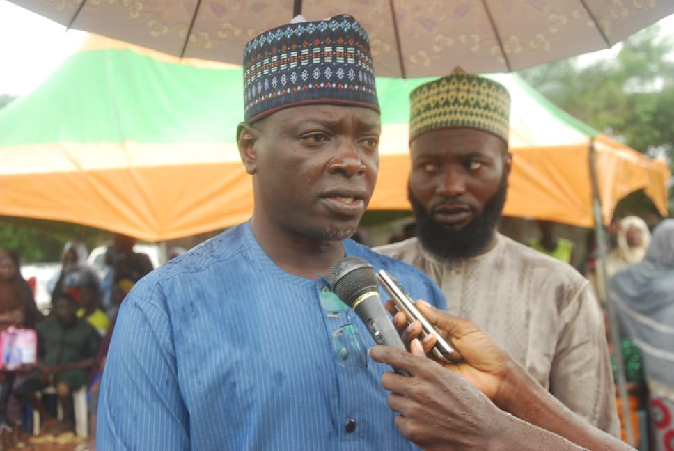 Nasarawa law maker Donates  50 wheel chairs to persons with disabilities
