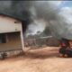 Unknown Gunmen Set Police Station And Officers Inside On Fire In Anambra