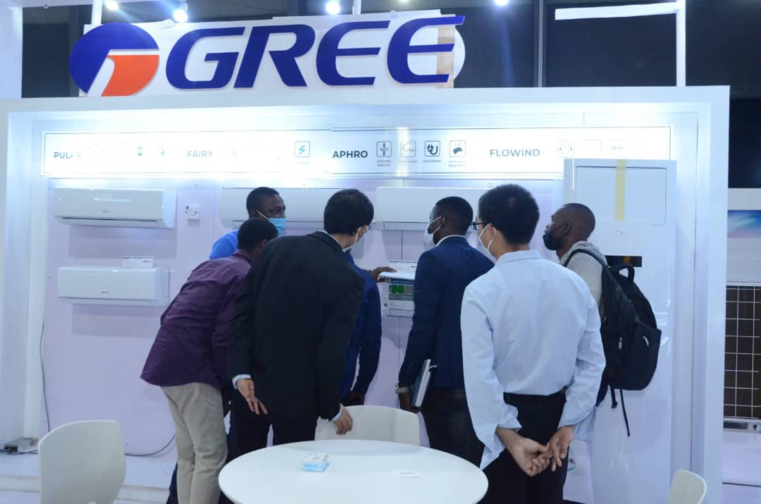 Gree Makes Its 2nd Debut At  Mega Clima Nigeria Expo 2021
