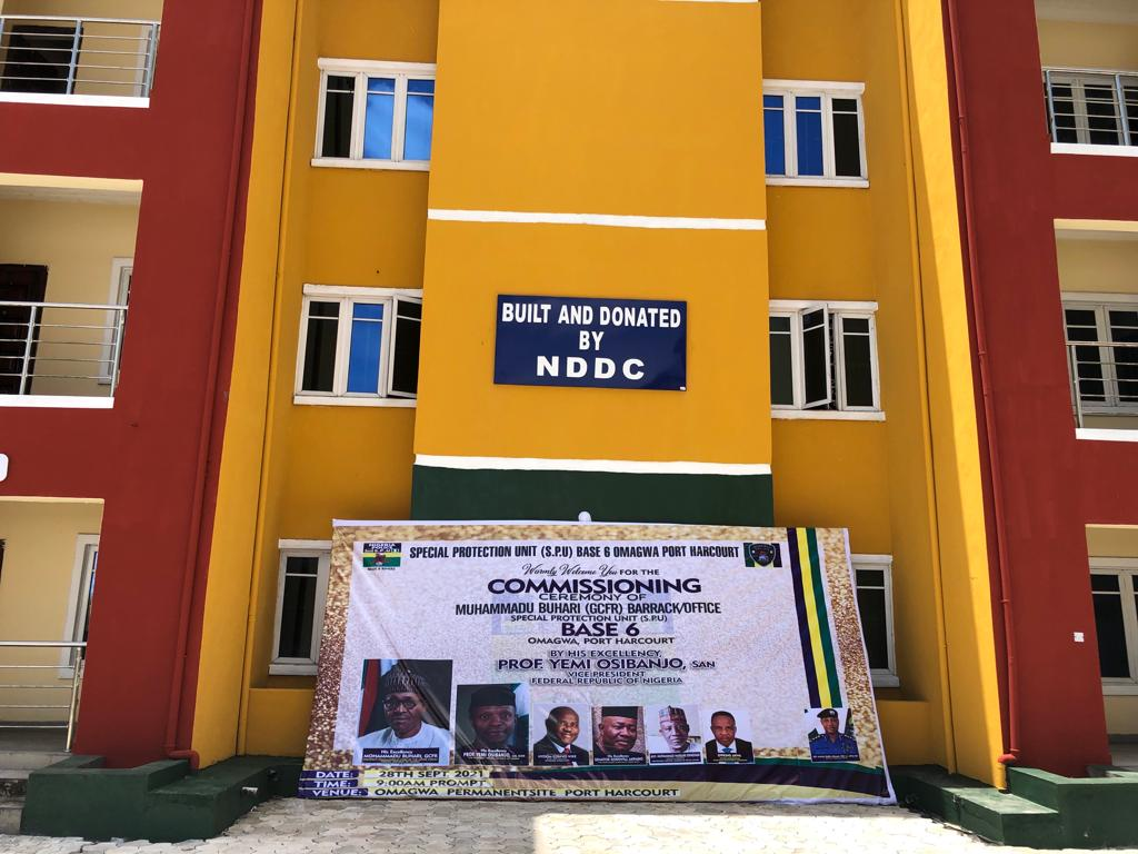 Buhari Commends NDDC For Donating Barracks To Nigeria Police