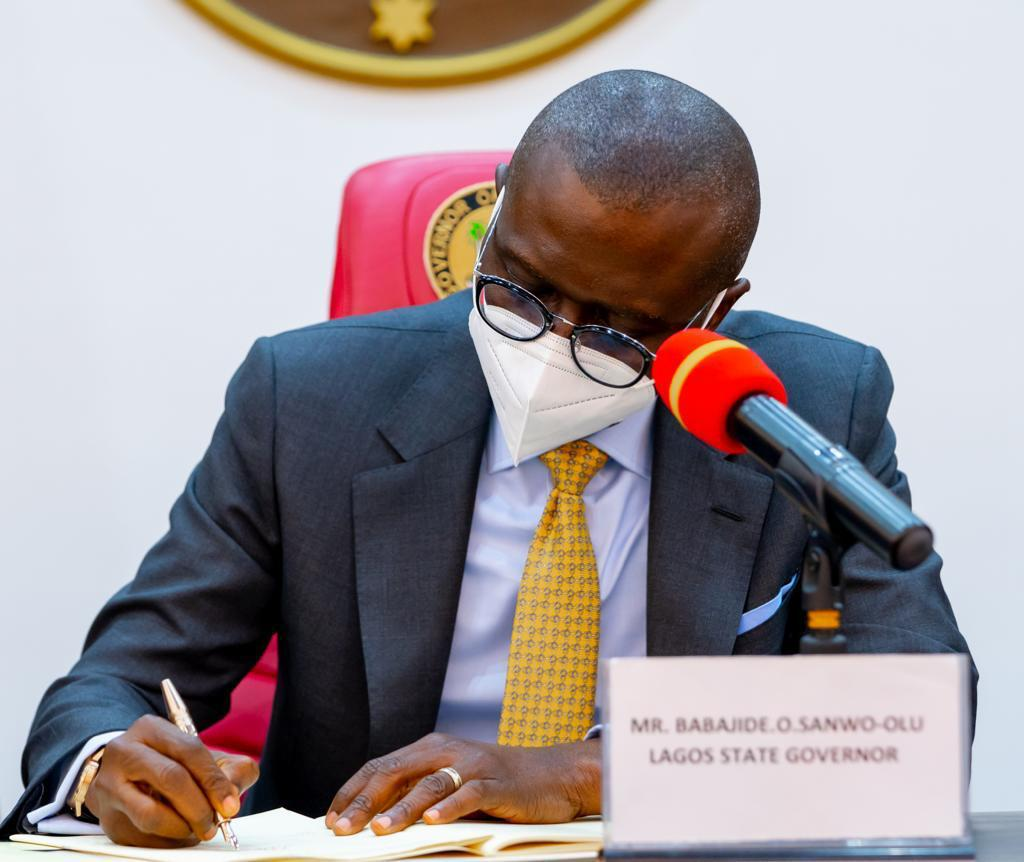 Sanwo-Olu Signs VAT Bill Into Law