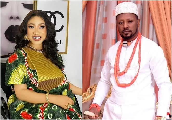 Tonto Dikeh's lover, Prince Kpokpogri drags DSS, Tonto Dikeh to court