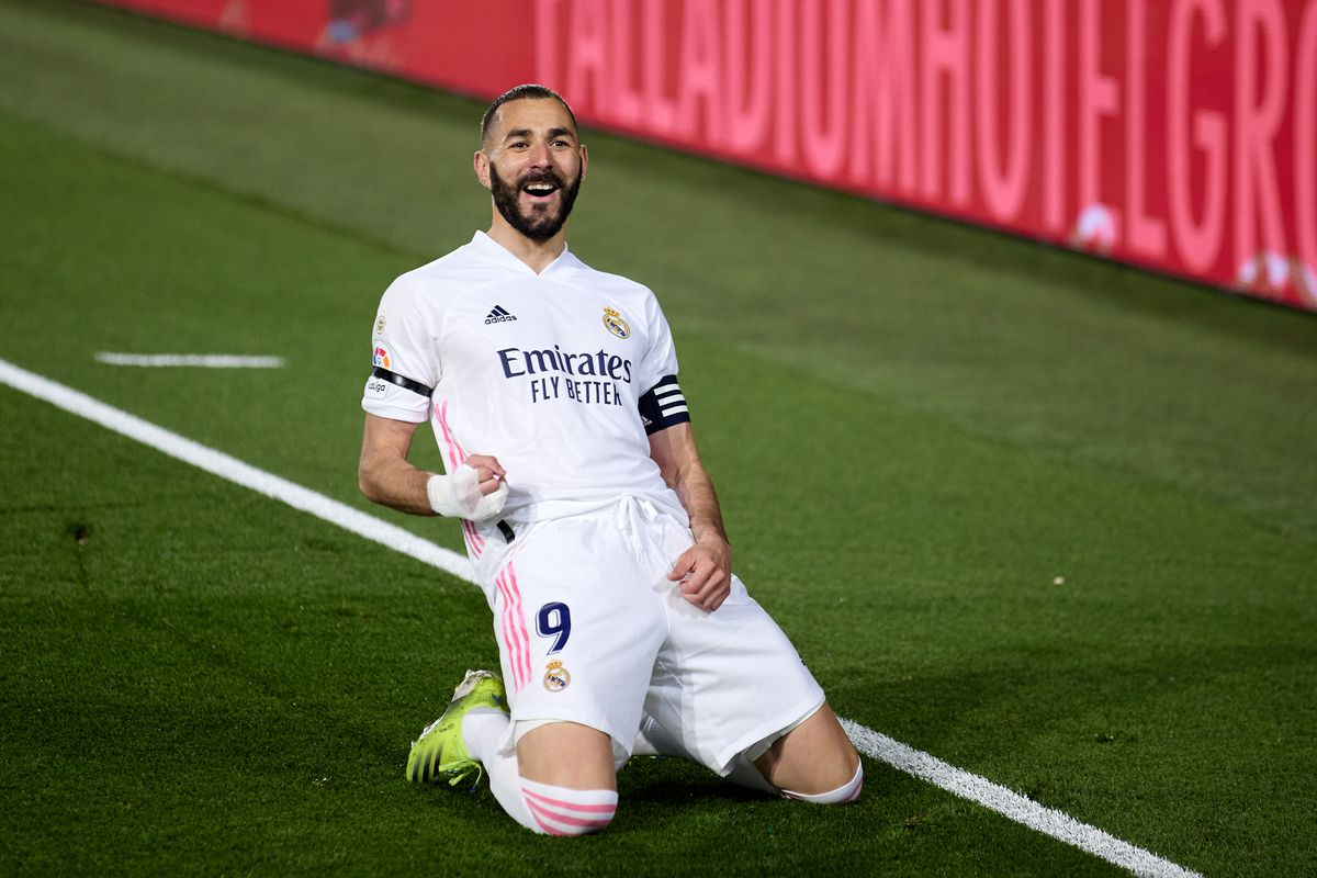 Karim Benzema has scored as many goals as the entire Barca team
