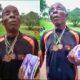 Nigerian 1974 Gold Medalist Turns Blind, Begs In Enugu Street To Feed