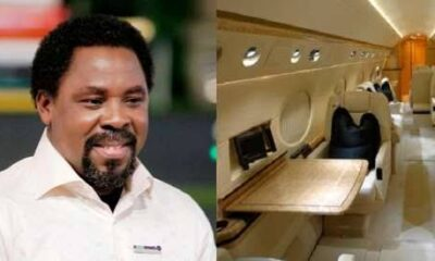 Synagogue: Disciples Seize Assets, Put T.B Joshua's Private Jet Up For Sale