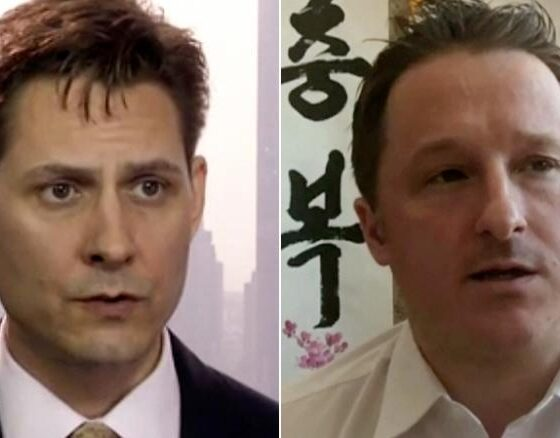 China Releases Two Canadian Detained For Morethan 1000 Days