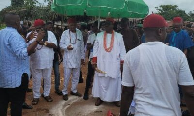 Otulu: Eschew Provocative Utterances, Misrepresentation Of Facts, Obi Of Ogwashi-Uku Tells Neighboring Communities