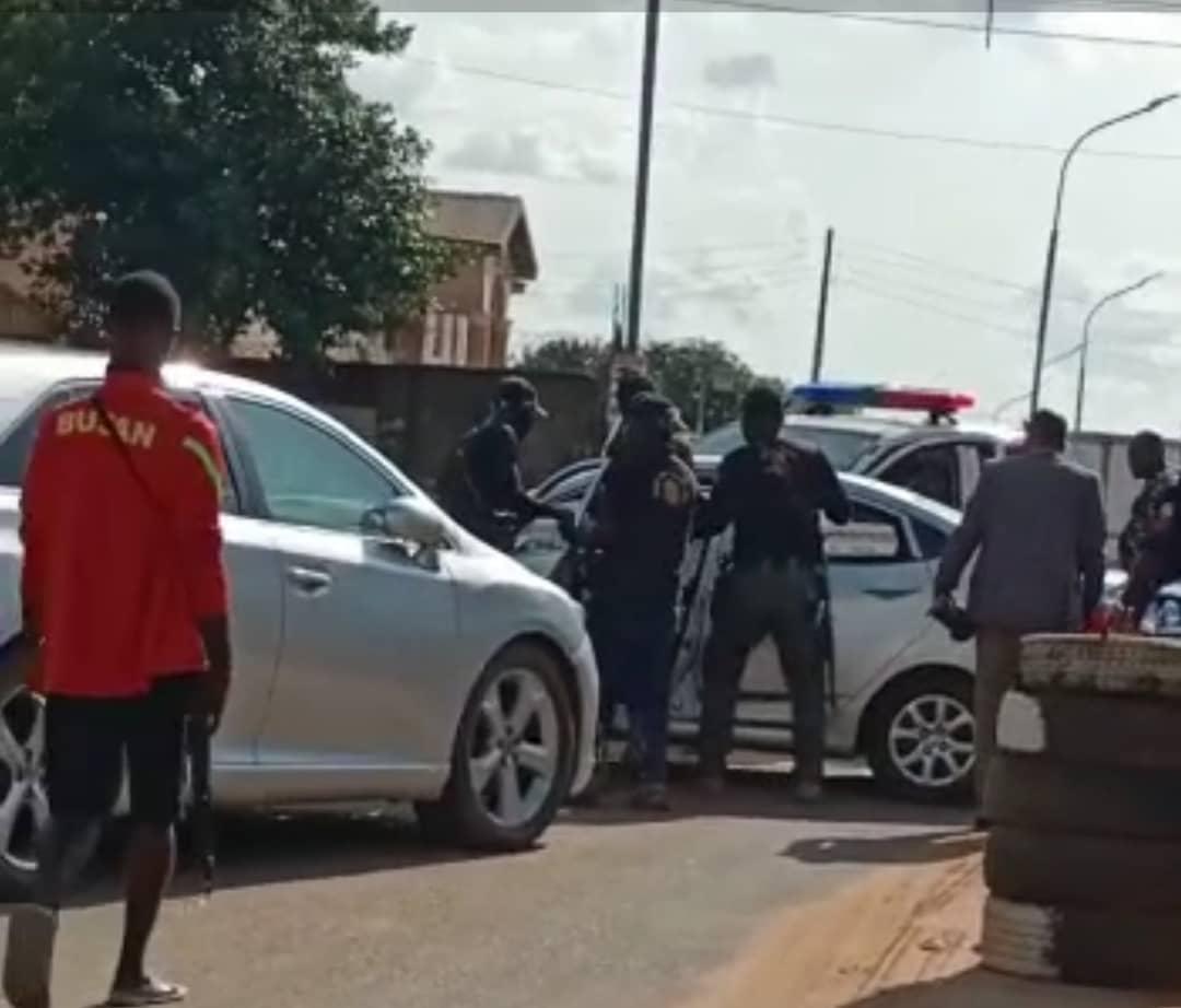 Senator Andy Uba's Convoy Not Involved In Manhandling Motorist