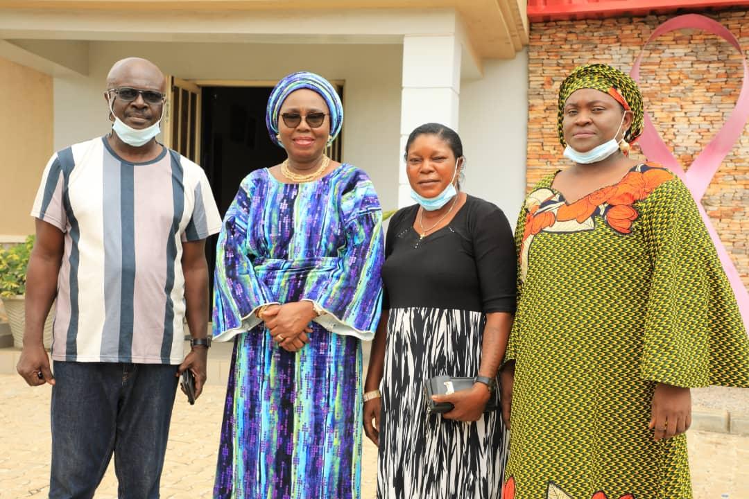 Oyo Tennis Association Names Mrs Akeredolu As Patron