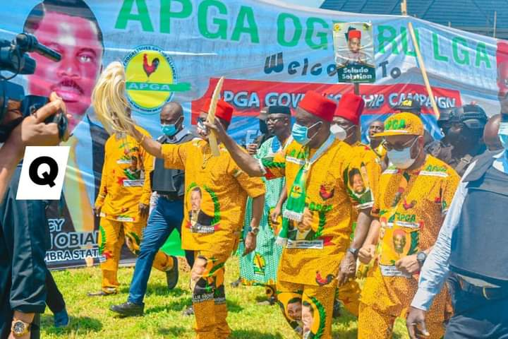 Anambra Guber: Alleged Attack On Soludo's Campaign Team Not True