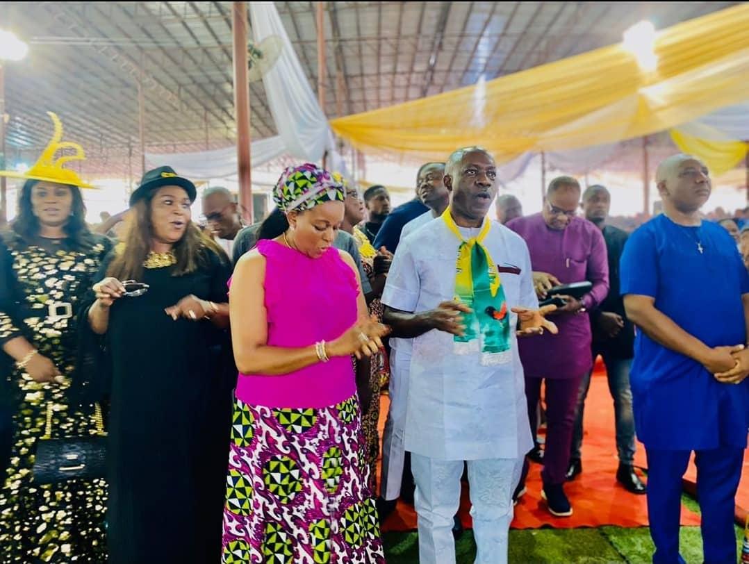 Anambra Obiano's Successor is in the Ark - Ebube Mmụọ Nsọ Prophesies