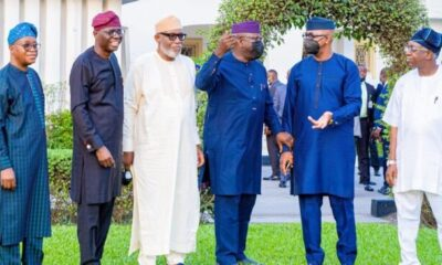 South-west governors meet over insecurity