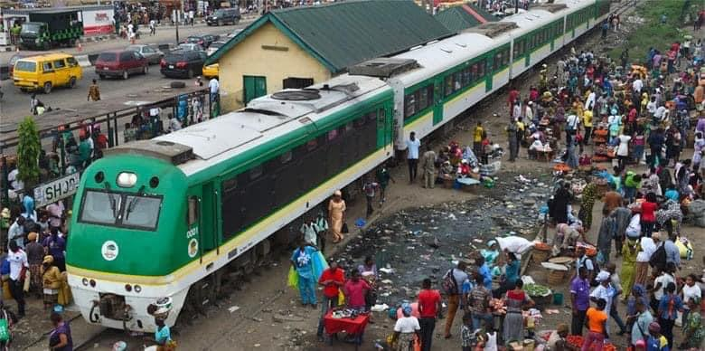 Hoodlums set Kano-bound train on fire in Kwara, two coaches burnt.