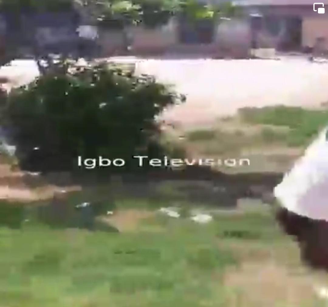 Over 50 houses burnt down in Oguta LGA, Imo State