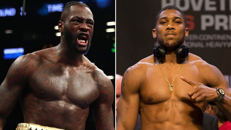 Deontay Wilder Target Anthony Joshua For A Fight Next Year