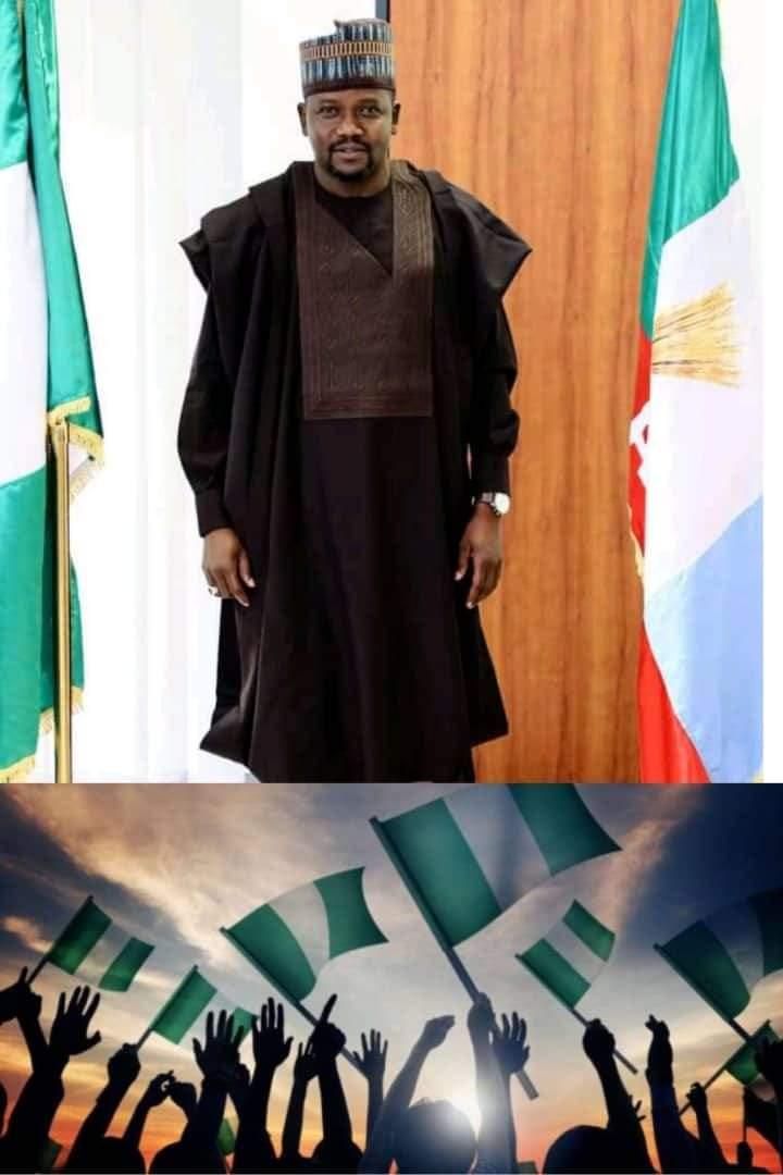 Nigeria @ 61, Gombe @ 25: Let Us All Work Together For Peace, Progress Development- Hon Victor Mela
