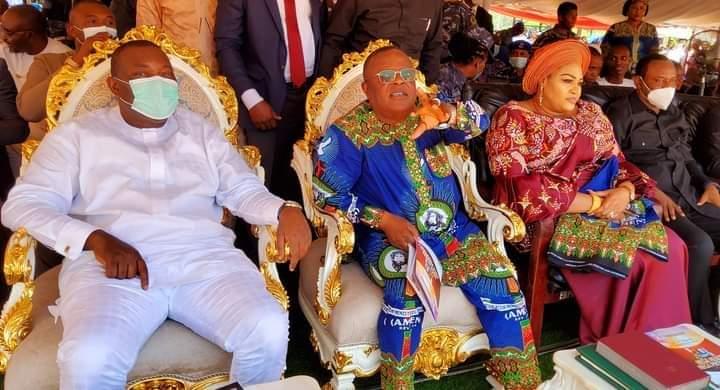 Govs Ugwuanyi And Umahi Attend Mbaka's Adoration Harvest Mass