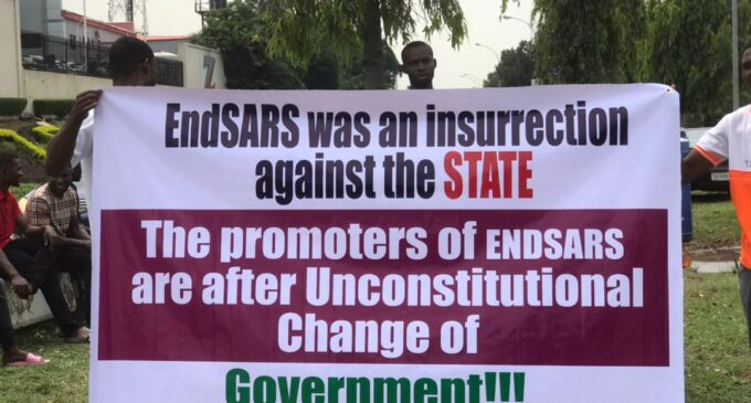Nobody Was Killed At Lekki Tollgate - Pro-Buhari Protesters