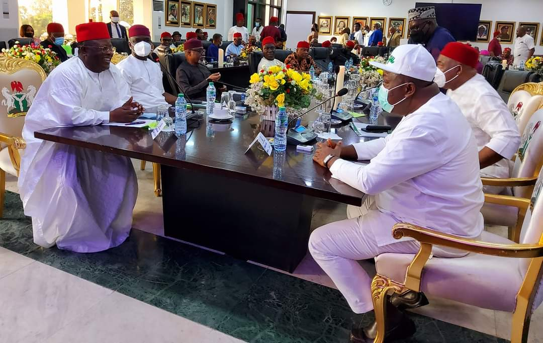 Communique Issued By South Eastern Governors After Meeting In Enugu