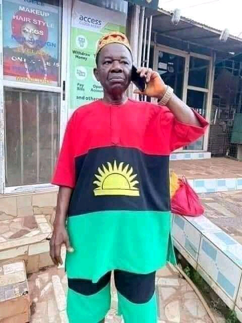 Actor Chiwetalu Agu Arrested For Putting On Biafran Outfit