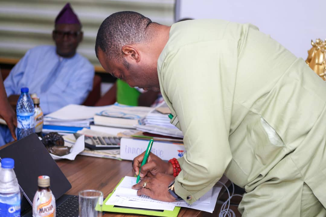 Simawa Police Station To Be Opened Before Xmas Says Aare Adetola Emmanuel-King