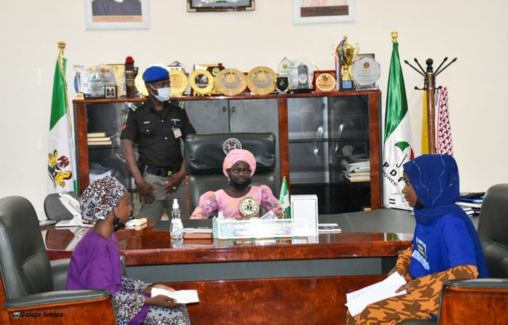 2021 International Day Of The Girl Child: 14 Year old Aisha Becomes Governor in Bauchi