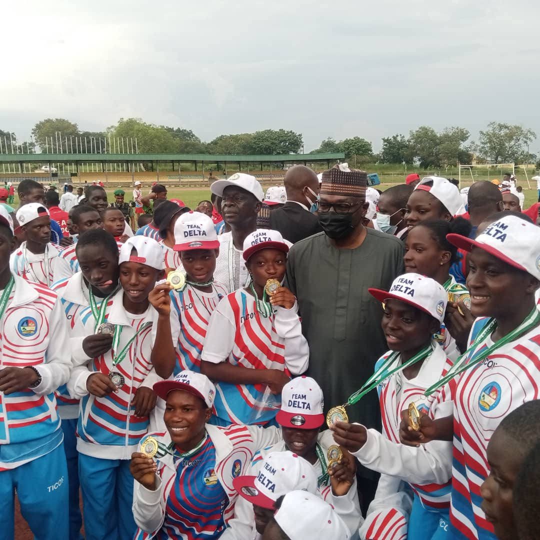 National Youth Games: Trophy Retained In Delta Through A Young But Old Looking