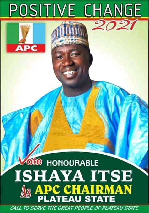 Breaking: APC Passed Vote of Confidence on Ishaya Itse